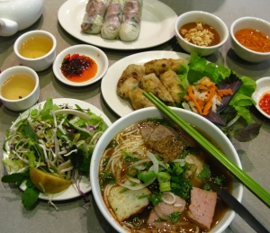 Lunch from Bau Truong