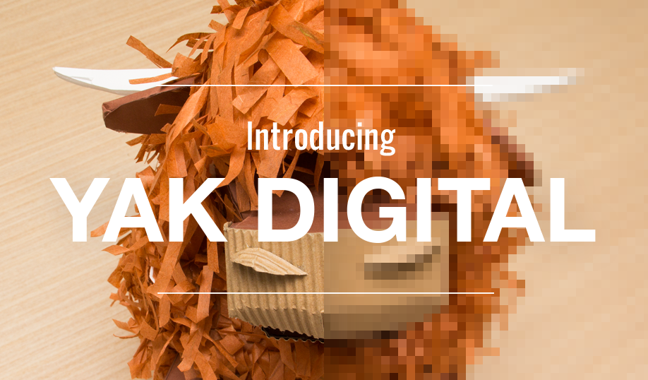 Introducing Yak Digital, the online home of Yak Media