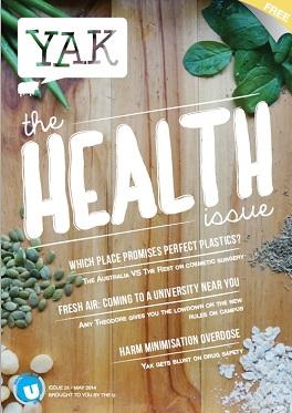 Yak Magazine May 2014 issue cover