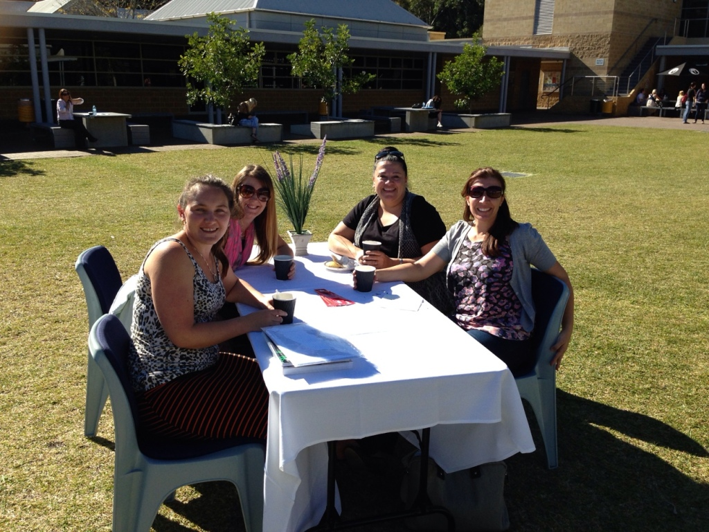 Campus Central held a Biggest Morning Tea at the Ourimbah Campus to raise funds for the Cancer Council