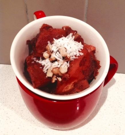 poached quinces photo